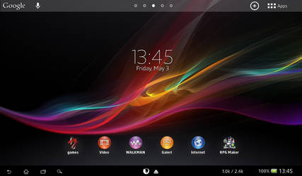 XPERIA tablet Z for windows 7/8