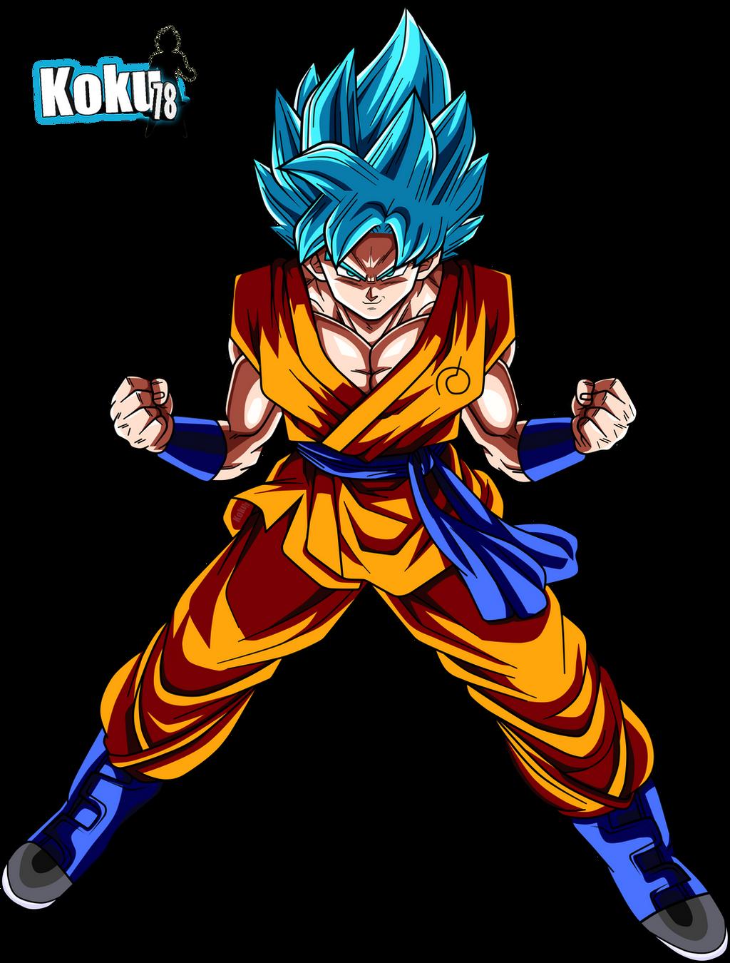 Goku Ssj Blue By Amun
