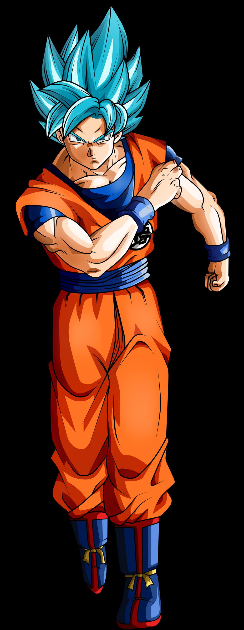 Goku Ssj Blue Universe Survival by Koku78 on DeviantArt