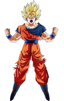 Goku Ssj by Koku78