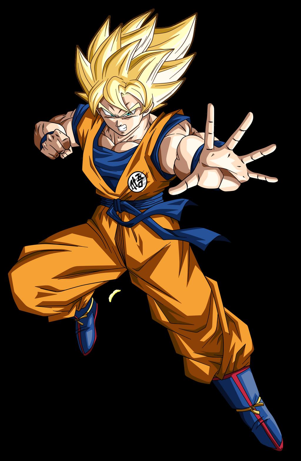 Goku Ssj by Koku78 on DeviantArt