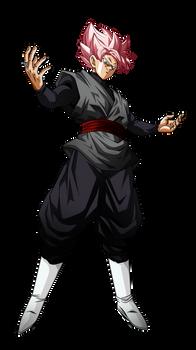 Black Goku Rose V2