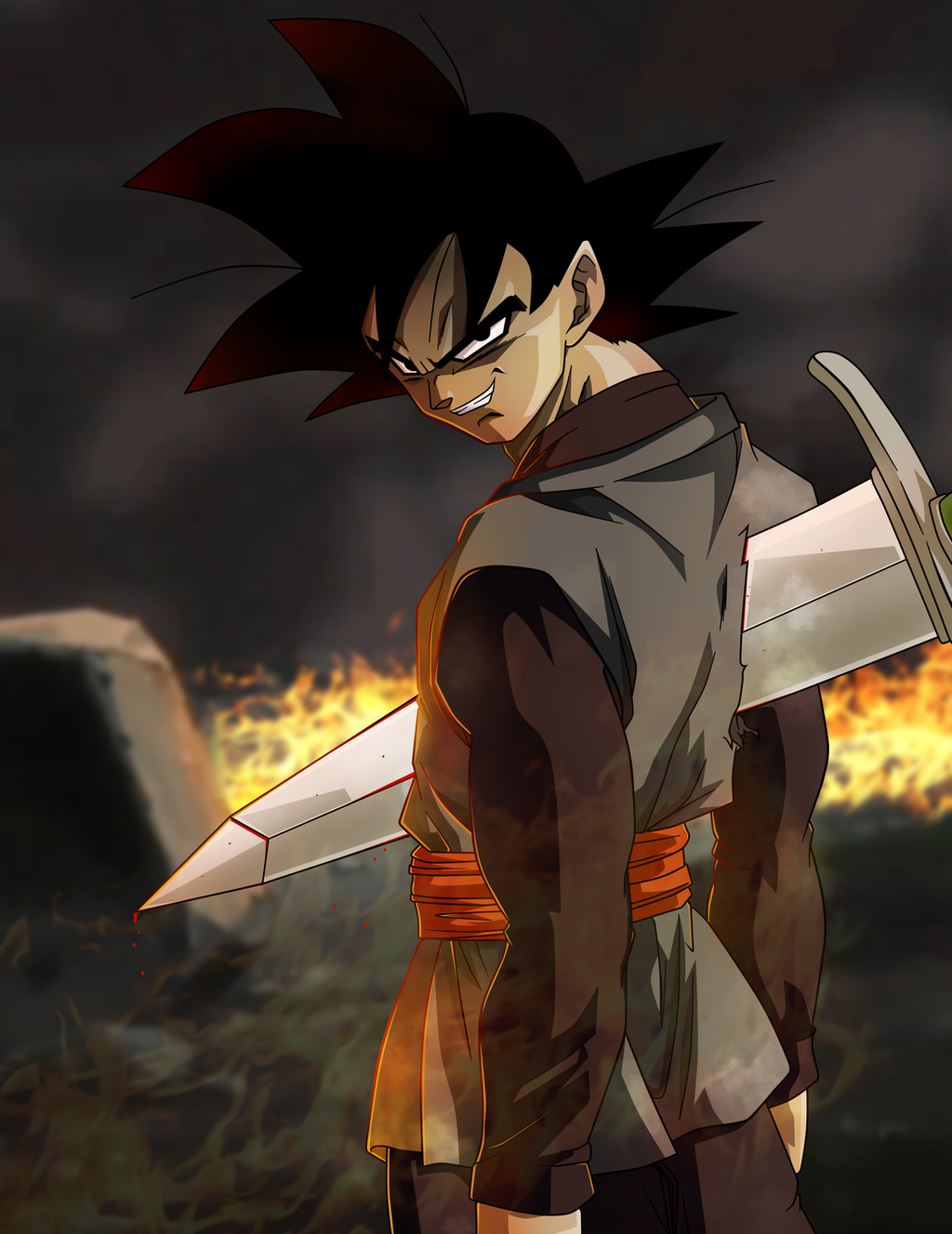 goku black on dragonball ultimatum deviantart. Black Bedroom Furniture Sets. Home Design Ideas