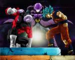 Goku. Jiren. Hit. Universe Survival Collab