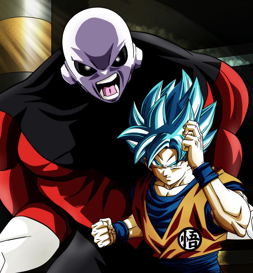 Goku VS Jiren (mamado) by Koku78