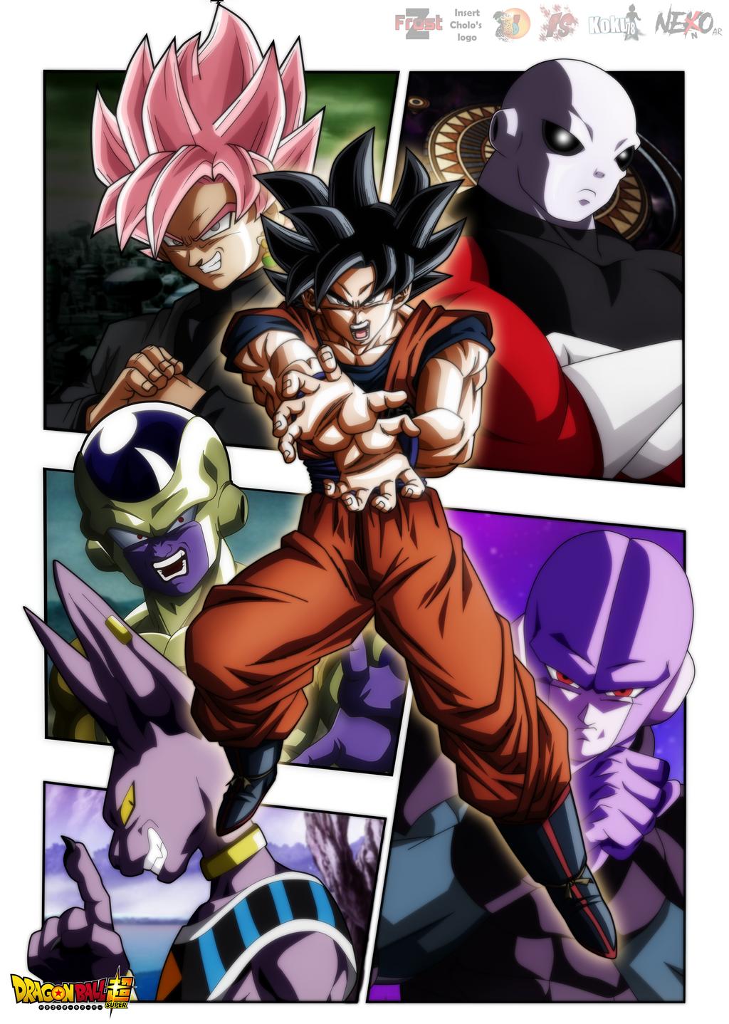 Poster- Dragon Ball Super Sagas by Koku78