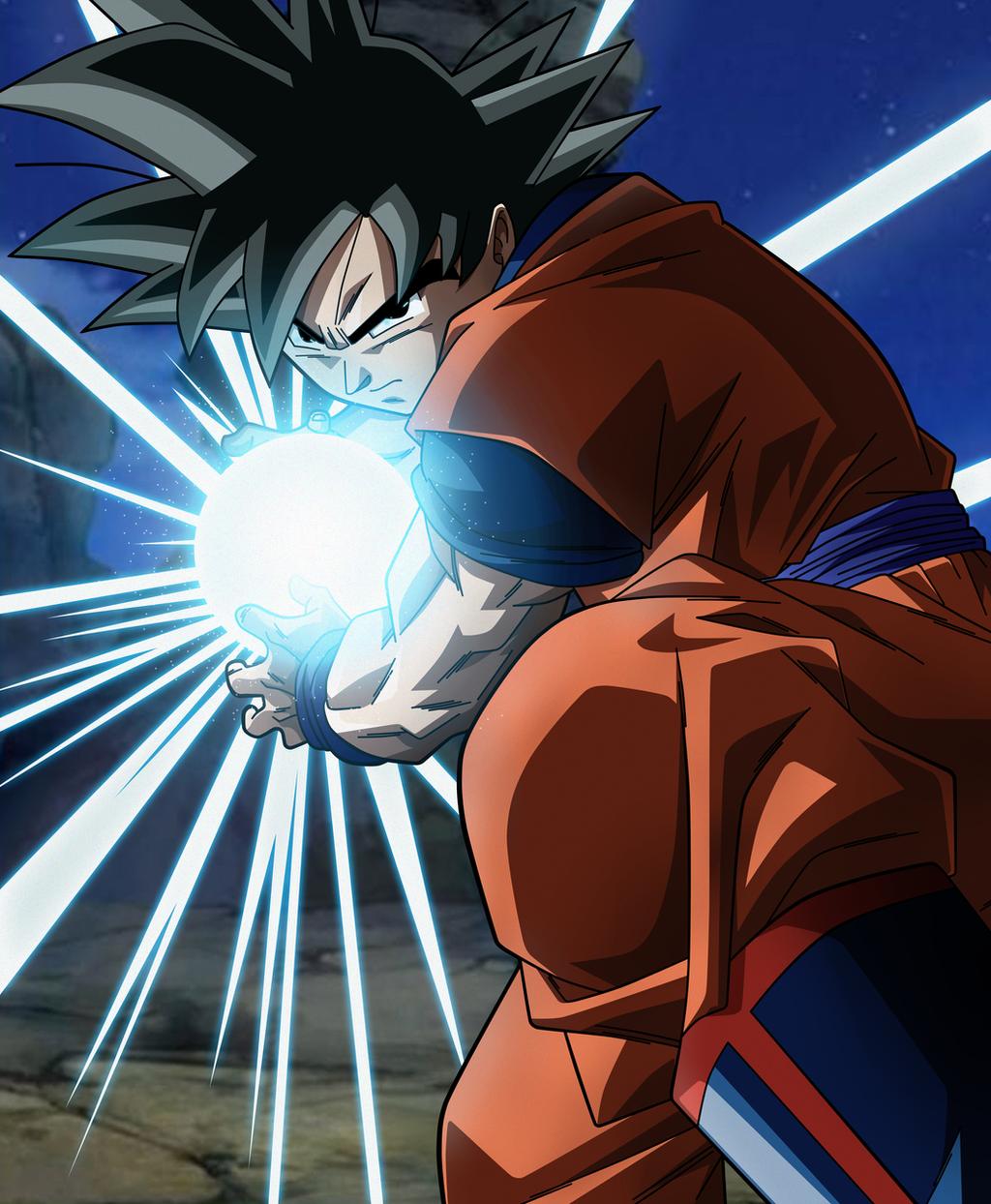 Goku-KamehameHAAAAAAAAAAA ahre by Koku78