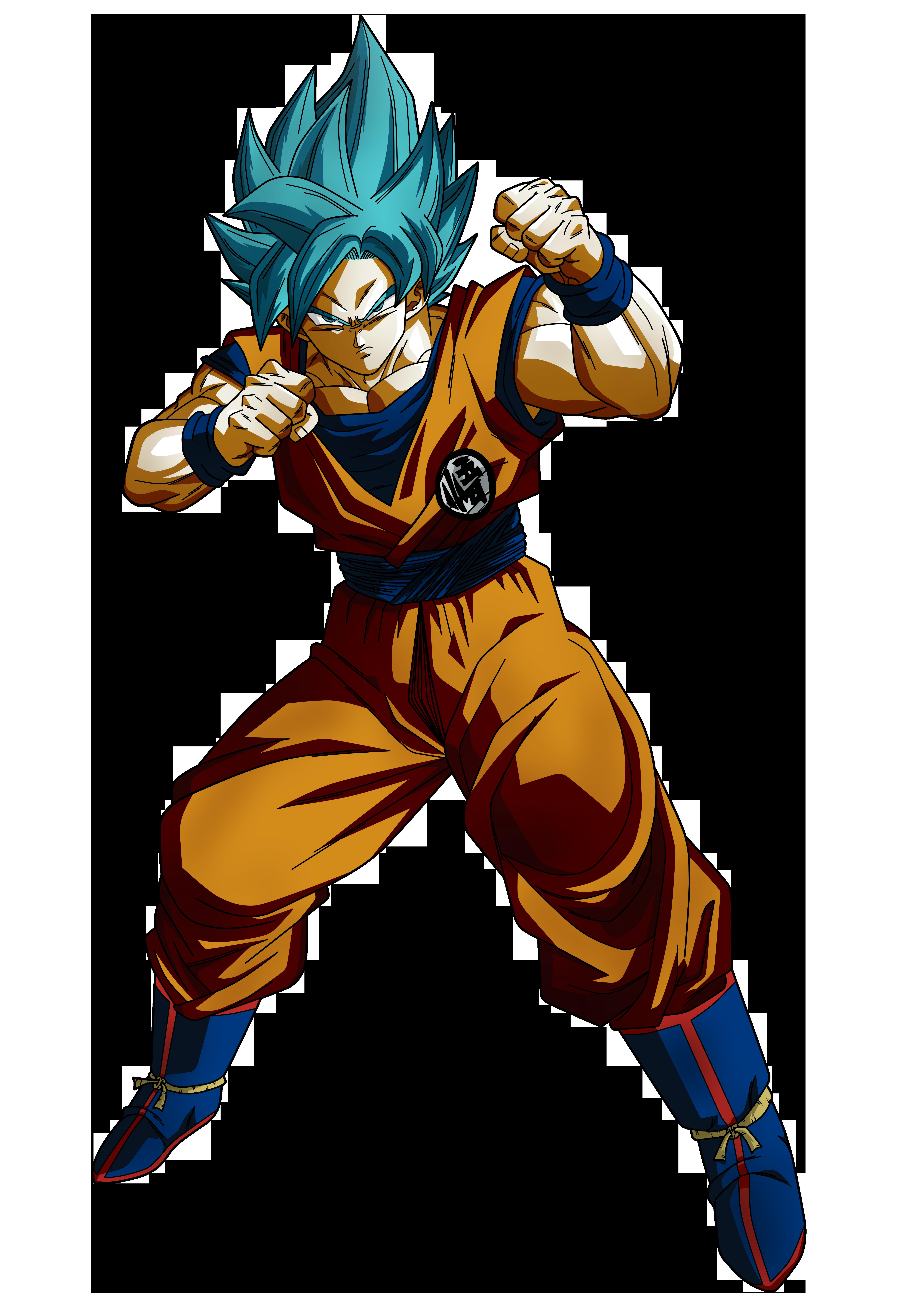 Goku Blue US by Koku78