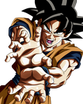 A Power Out of Limit. Goku Ultra Instict