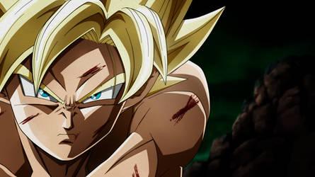 Decisive Battle in Namek. Goku SSJ by Koku78