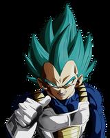 Defend Your Pride Principe of Saiyans. Vegeta Blue by Koku78