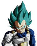 Defend Your Pride Principe of Saiyans. Vegeta Blue