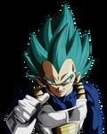 Defend Your Pride Principe of Saiyans. Vegeta Blue