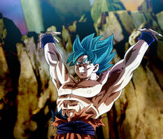 Here We Go! Goku, Genkidama Universe Surv. by Koku78