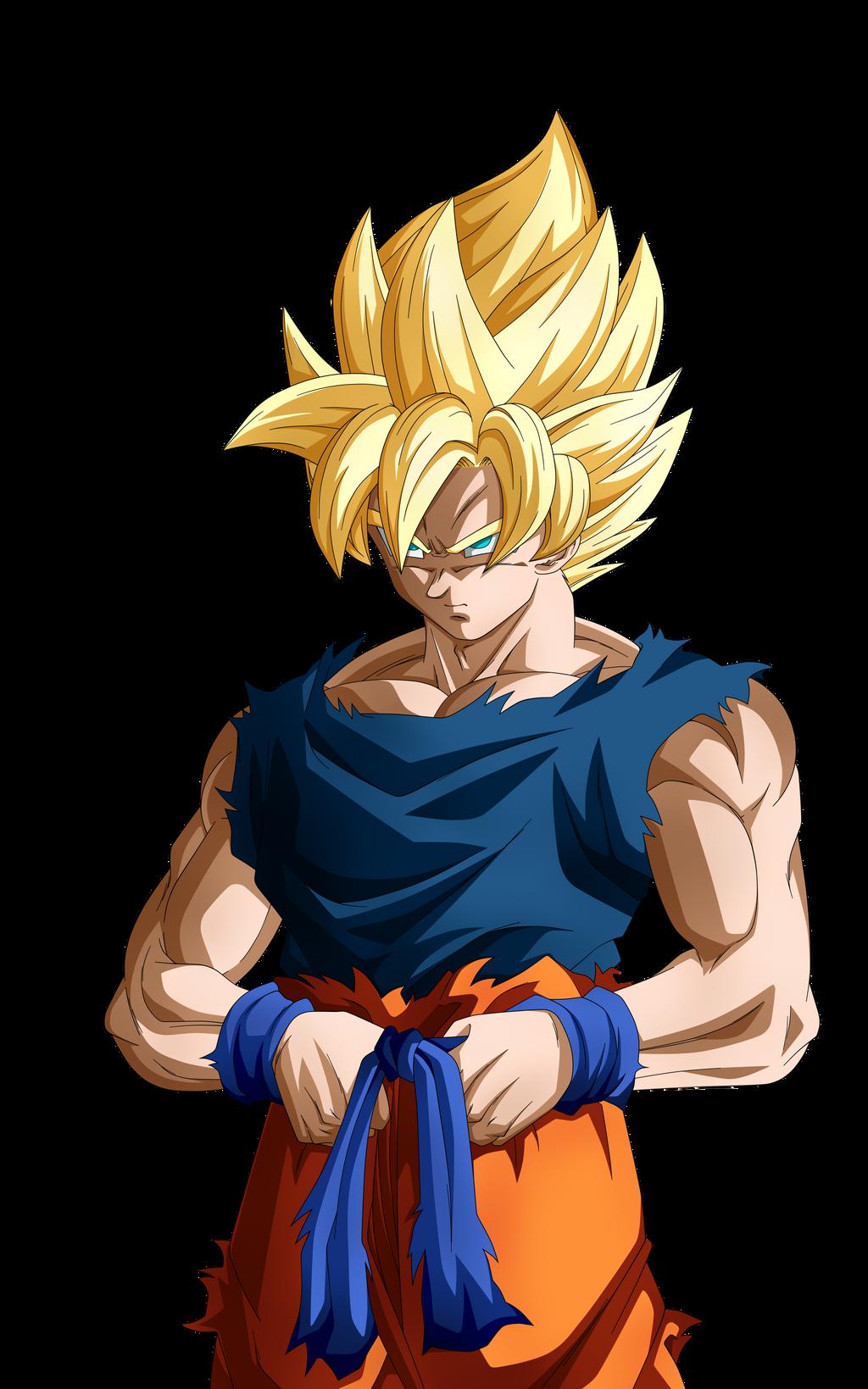 Second Round in Coming. Goku SSJ