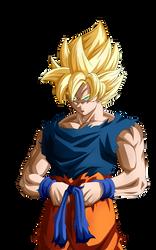 Second Round in Coming. Goku SSJ by Koku78