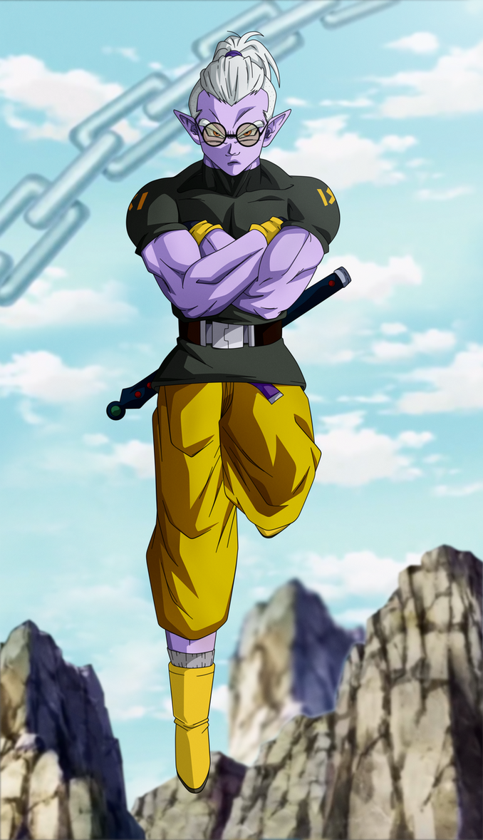 Shrouded in Mistery. Fu-Dragon Ball Heroes by Koku78