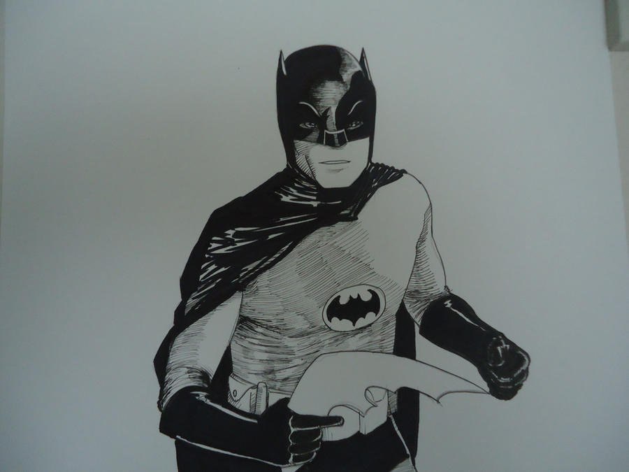 adam west batman by CJJennings