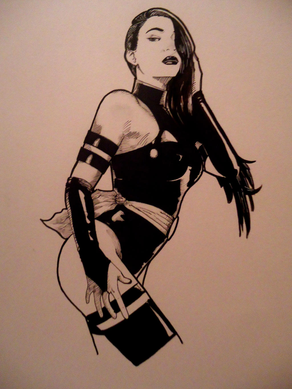 Psylocke by CJJennings