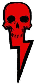 Skull And Bolt Logo