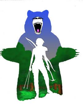 Female Bear Hunter
