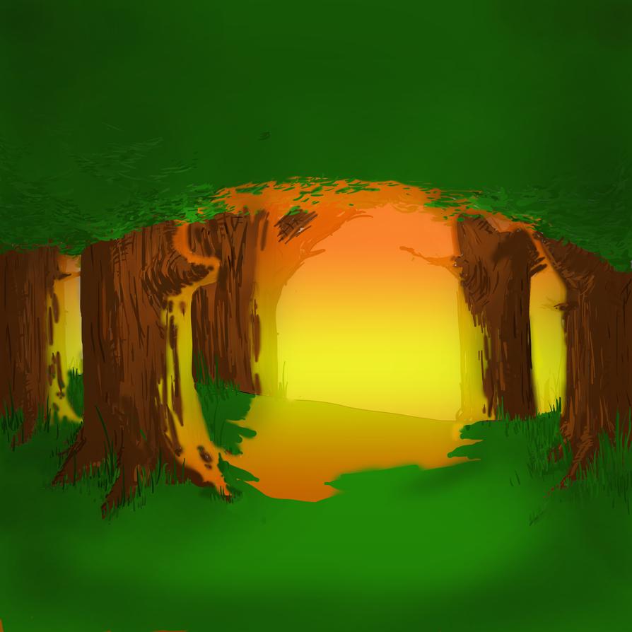 Forest Background by CJJennings on DeviantArt