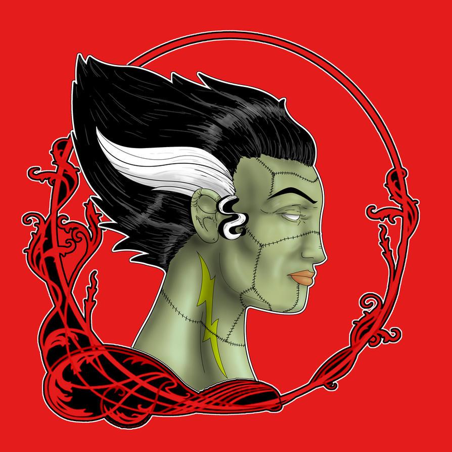 Bride of Frankenstein by CJJennings