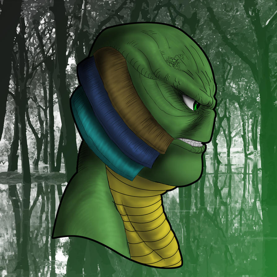 Creature from the Black Lagoon by CJJennings