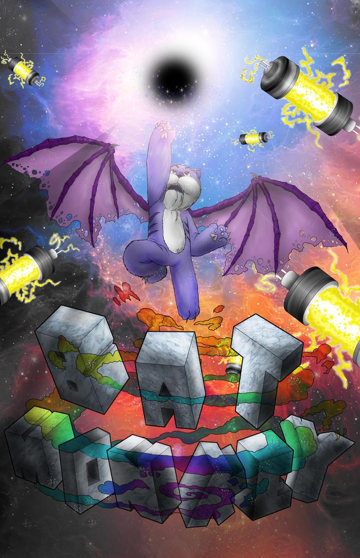 Batmonkey Poster by CJJennings