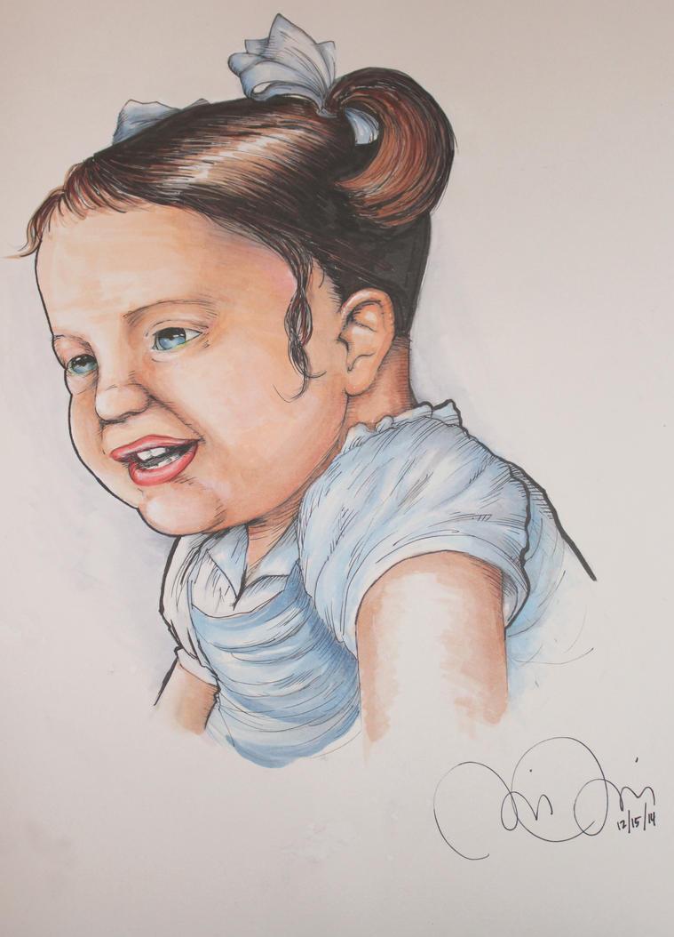 Baby Belia copic by CJJennings