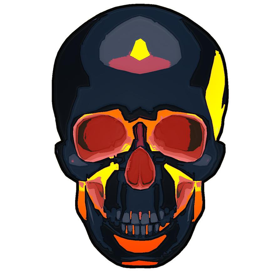 Inferno Skull by CJJennings