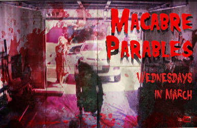 Macabre Parables Bloody Poster by CJJennings