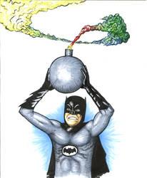Adam Wests 60's Batman by CJJennings