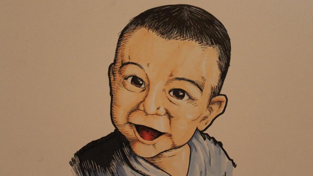 Baby Boy painting by CJJennings