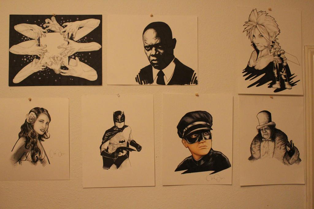 Wall of Art by CJJennings