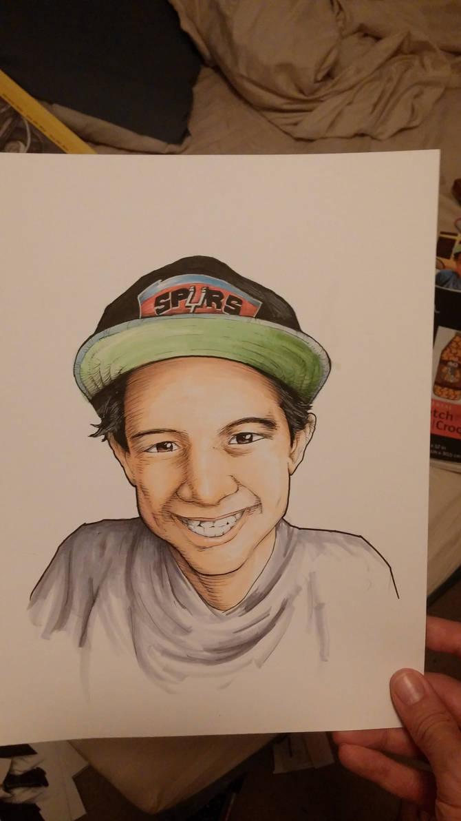 Illustration of kid