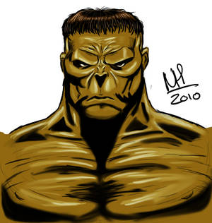 The Incredible Hulk portrait