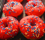 Fourth Of July 2016, Patriotic Donuts
