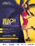 Beach Party Flyer Poster