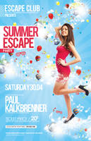 Summer Escape Poster/Flyer by outlawv15