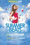 Summer Beats Flyer PSD Template