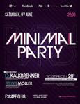 Minimal Party V2 Flyer PSD Template