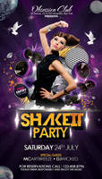 Shake It Party Flyer