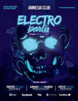 Electro Skull Party