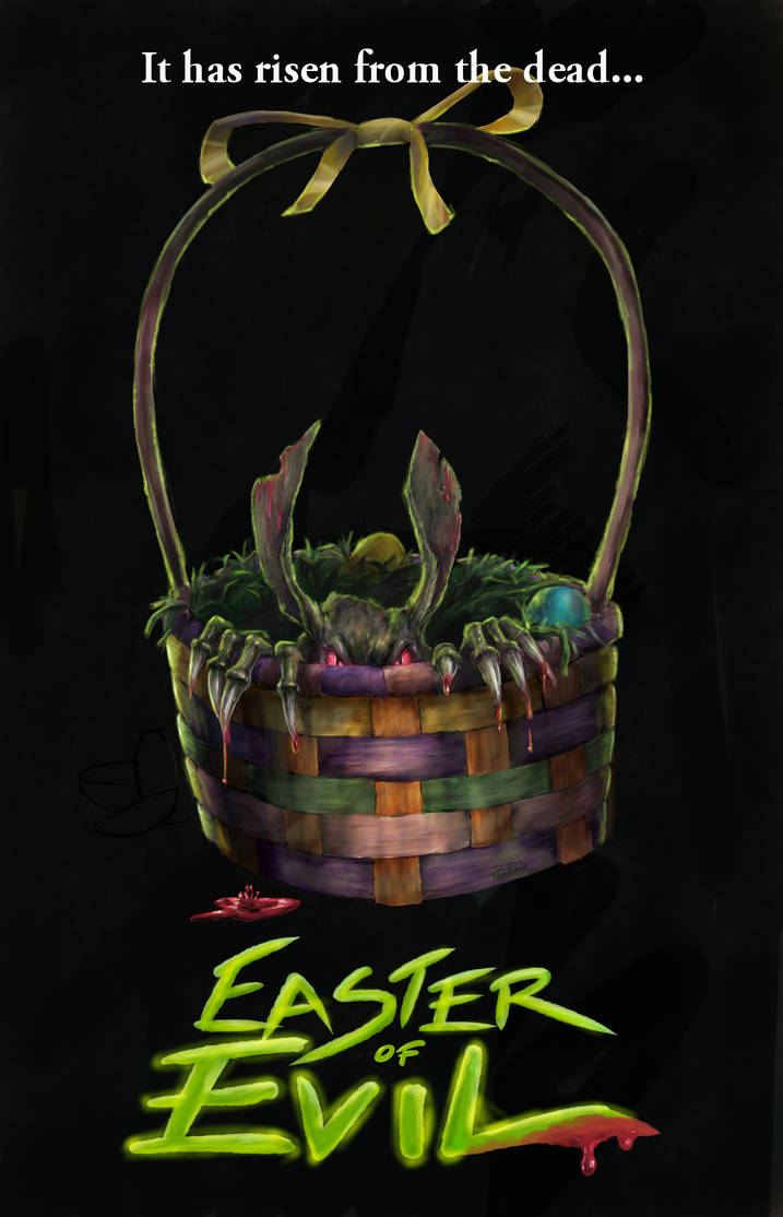 Faux B-Movie: Easter of Evil by paintedrabbit