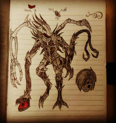 Scream Eater - Beast Form