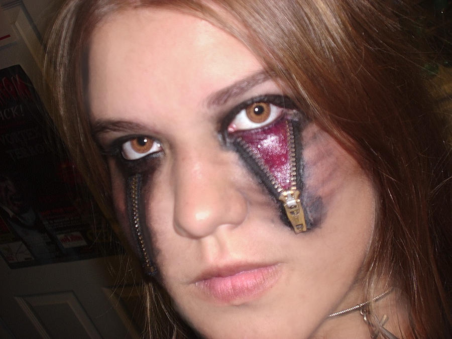 halloween makeup 2009 by o0psy0o on deviantart. Black Bedroom Furniture Sets. Home Design Ideas