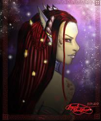 Red Huntress - Old work by Reynjel-Darkflame