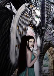 Night Spirit and Everlight by Reynjel-Darkflame