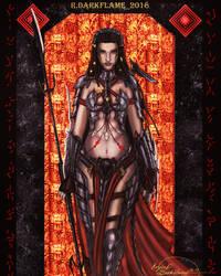 Ooman Huntress by Reynjel-Darkflame